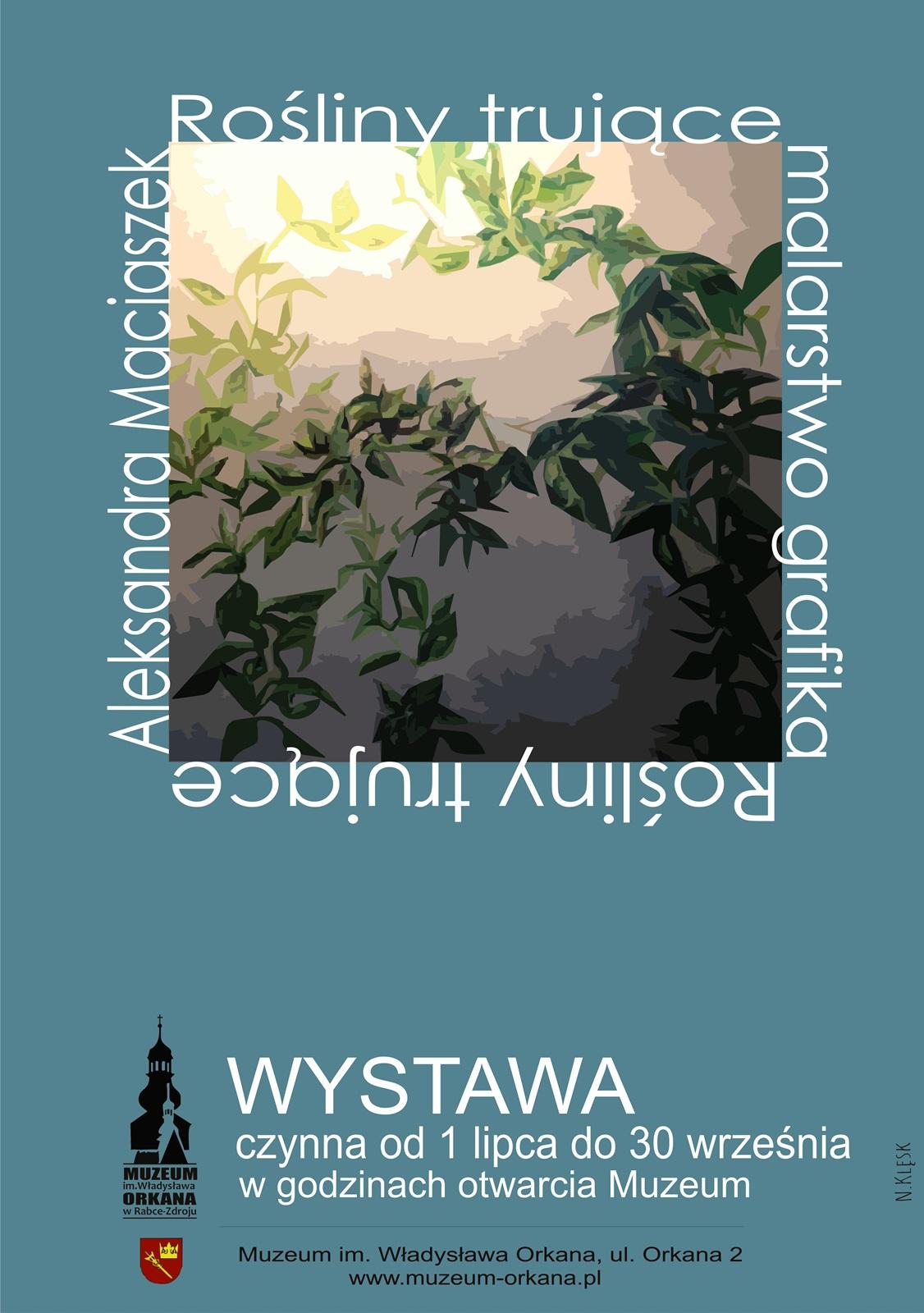Wystawa twórczości Aleksandry Maciaszek