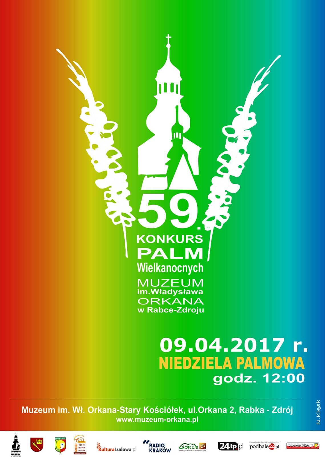 Więcej o: 59. Konkurs Palm Wielkanocnych w rabczańskim Muzeum