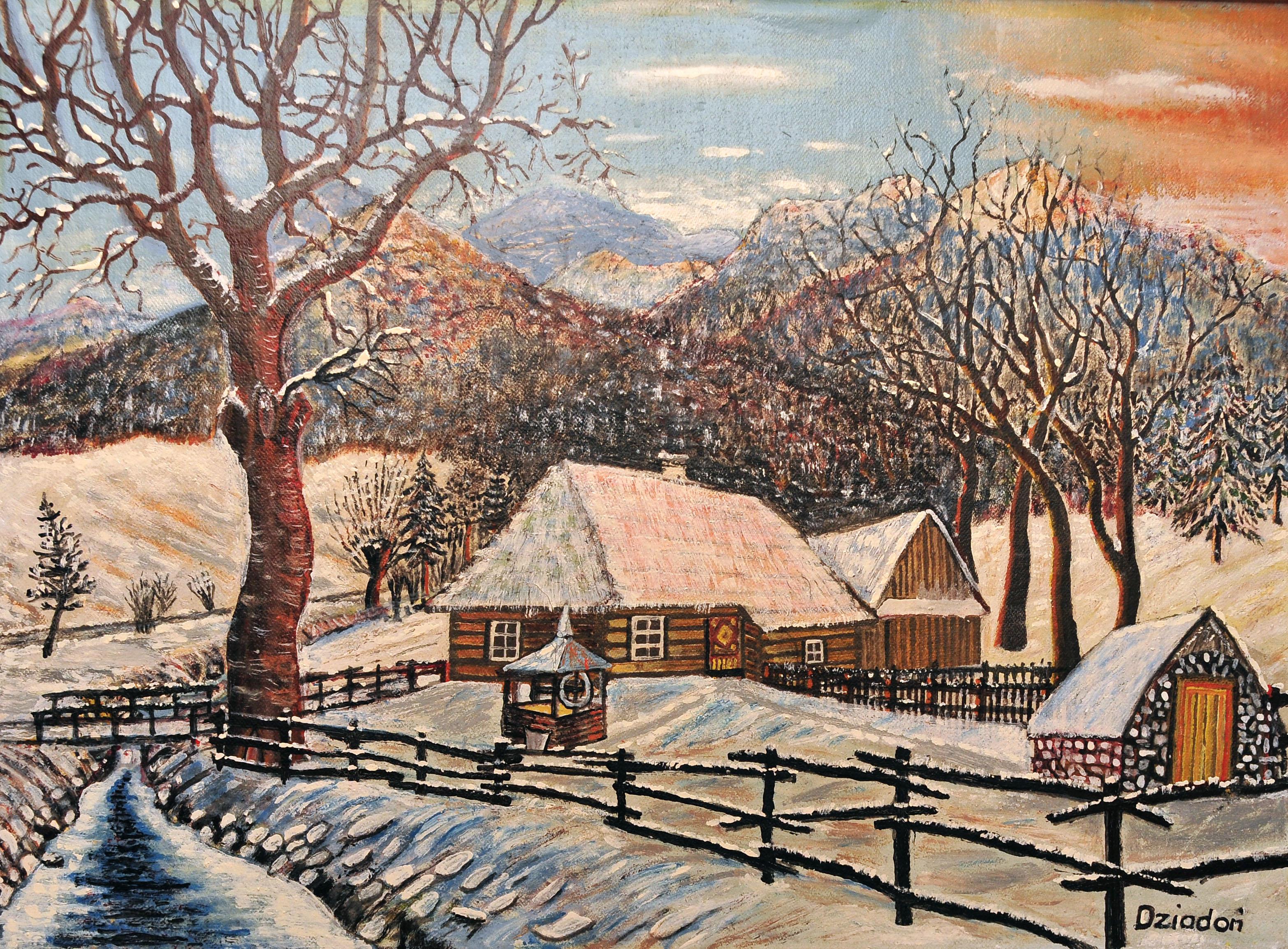 Więcej o: Otwarcie wystawy malarstwa Stefana Dziadonia