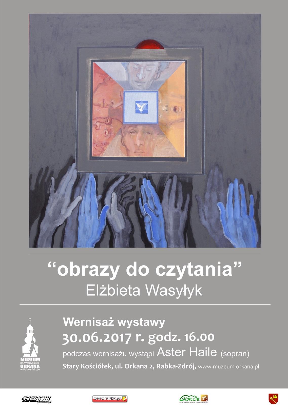 """Więcej o: Wernisaż wystawy """"Obrazy do czytania"""" Elżbiety Wasyłyk"""