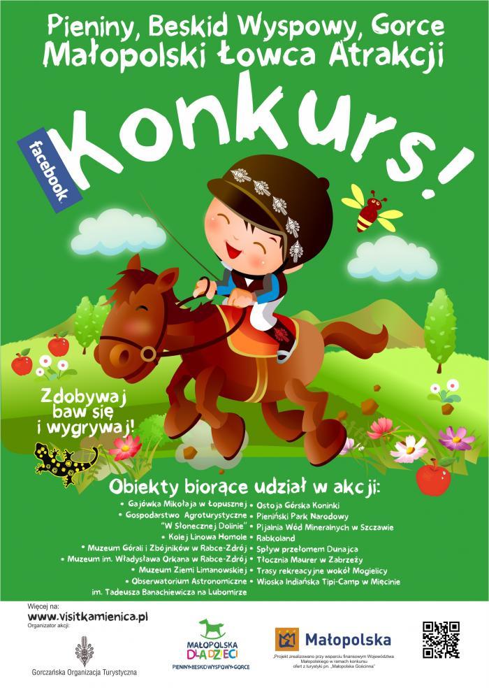 Więcej o: Rusza wakacyjny konkurs dla dzieci w Małopolsce !