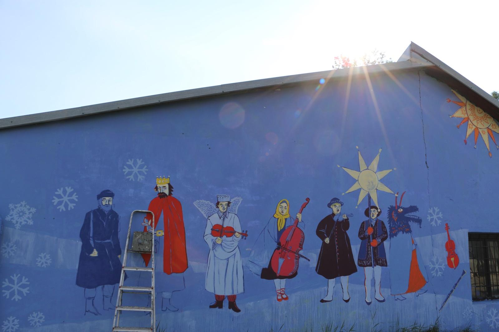 Więcej o: Rabczański mural już jest!
