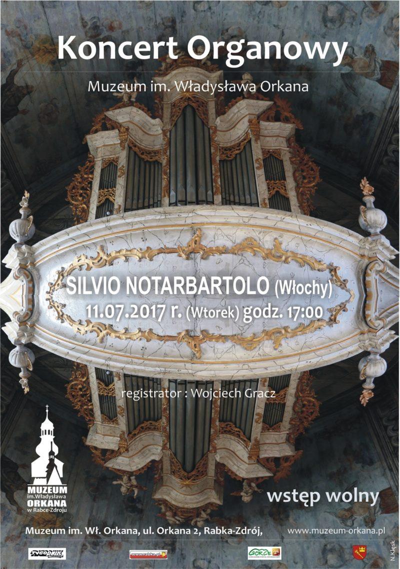 Więcej o: Koncert organowy – Silvio Notarbartolo 11.07.2017r. – zaproszenie