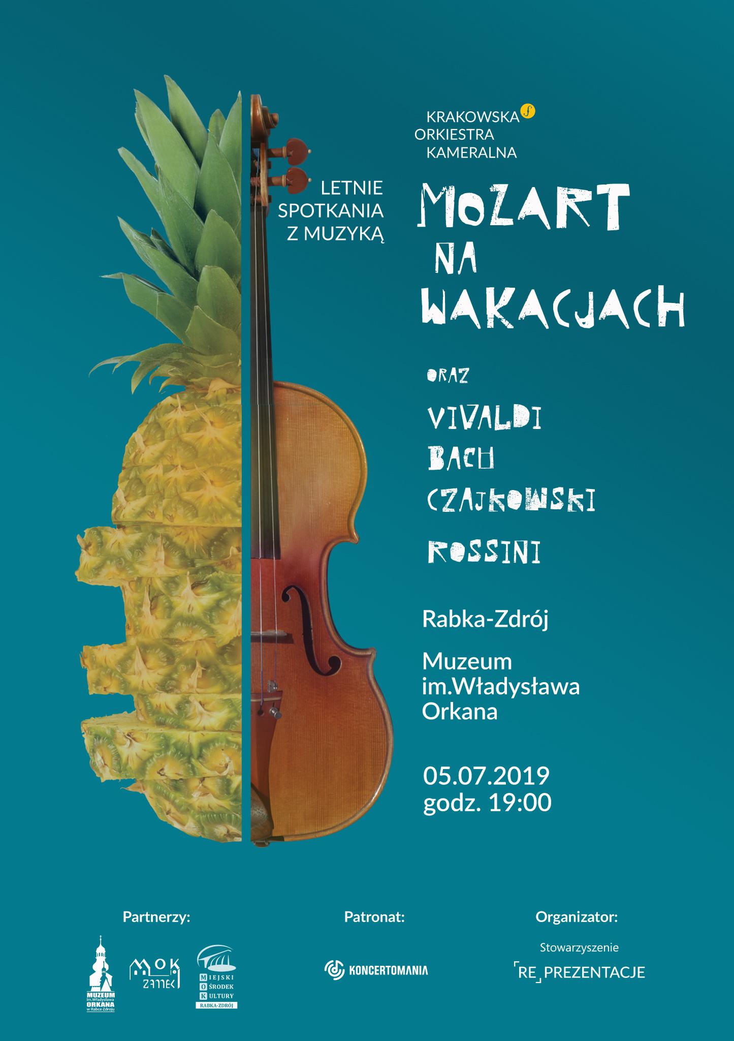Więcej o: Mozart na wakacjach – muzyka klasyczna w muzeum