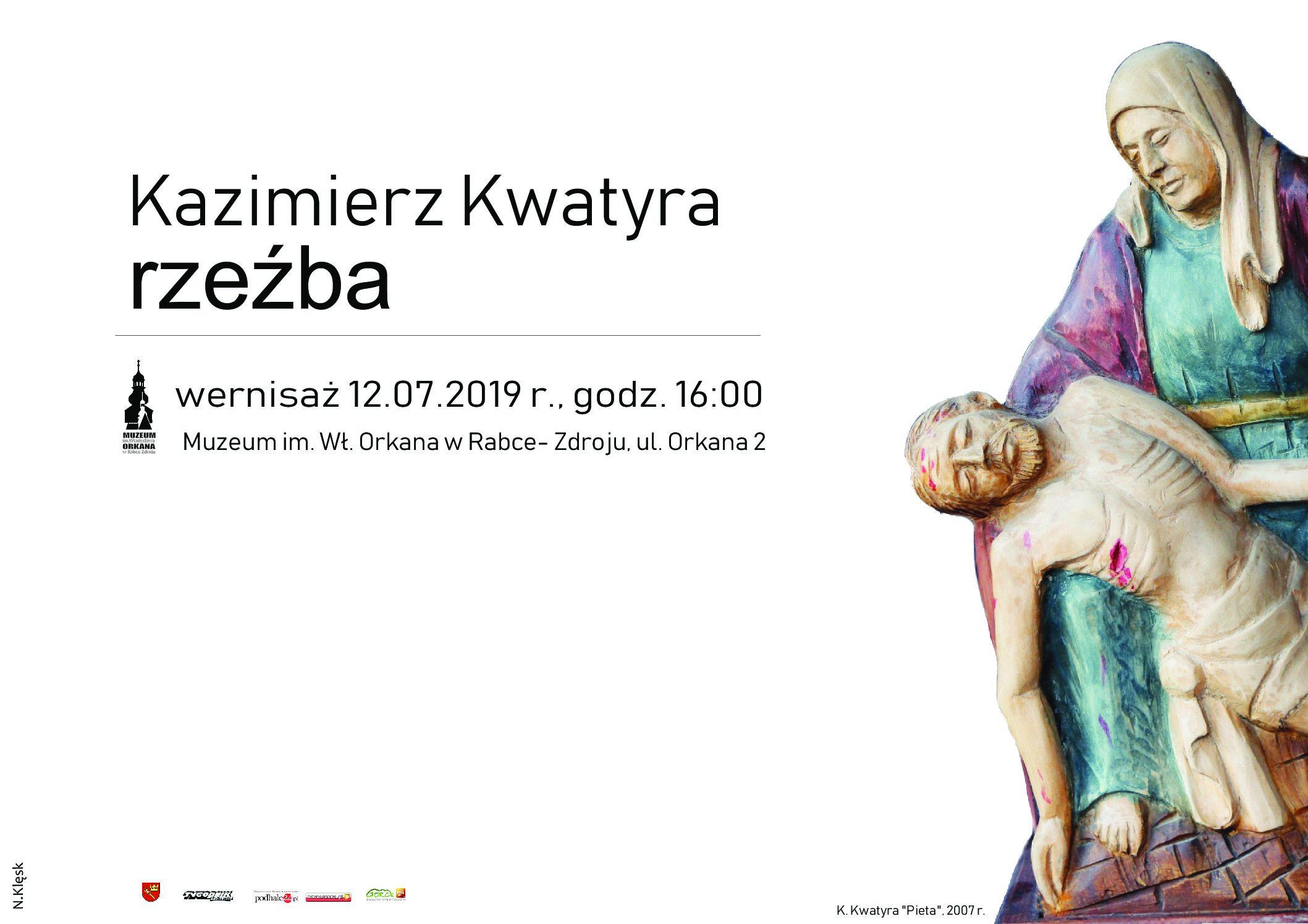 Więcej o: Wernisaż wystawy rzeźb Kazimierza Kwatyry