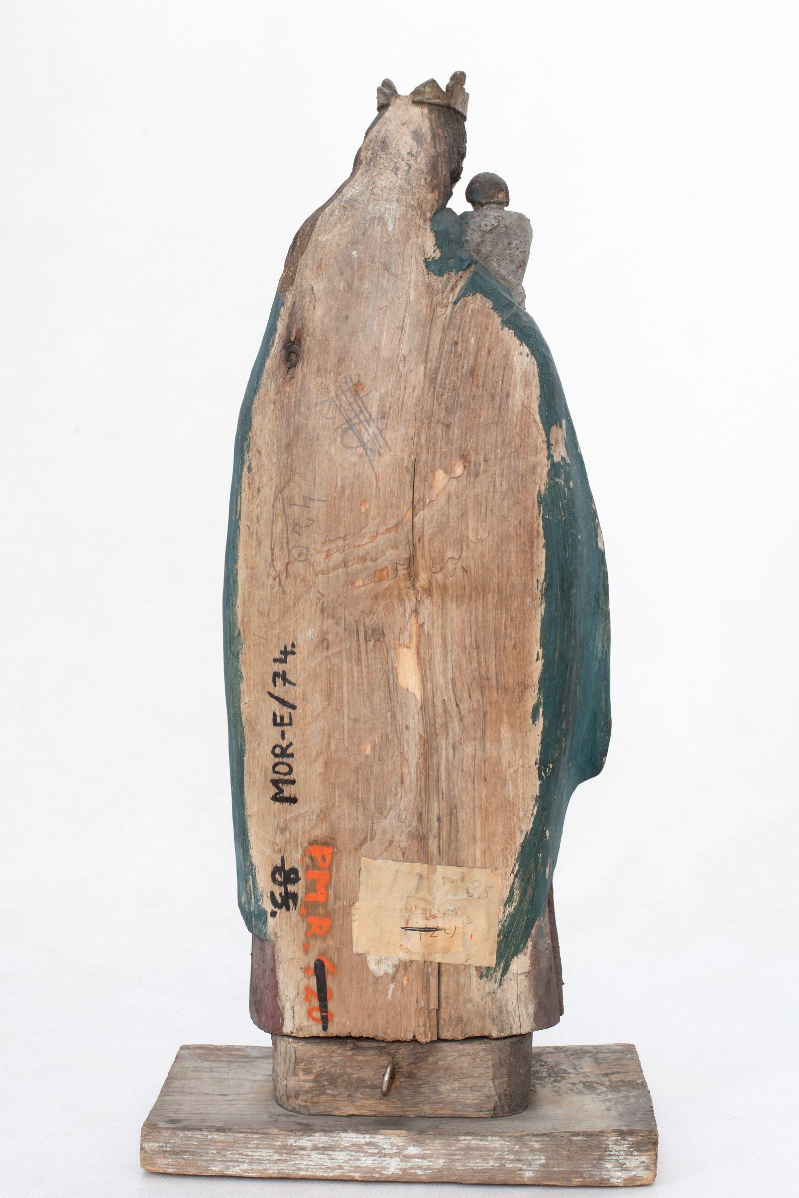 MOR E/ 74 Matka Boska Szkaplerzna tył