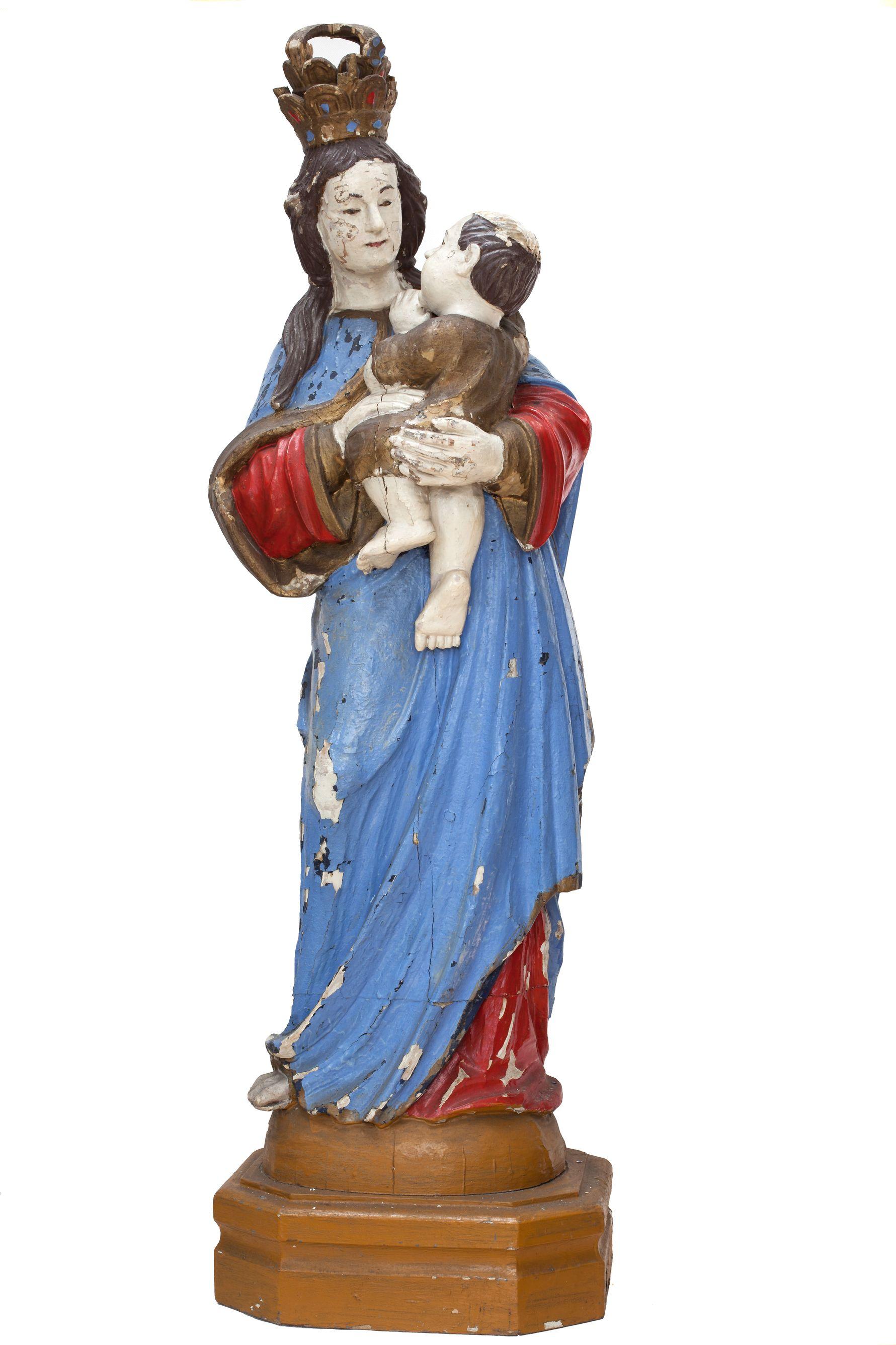MOR E/3742 Matka Boża z Dzieciątkiem przód