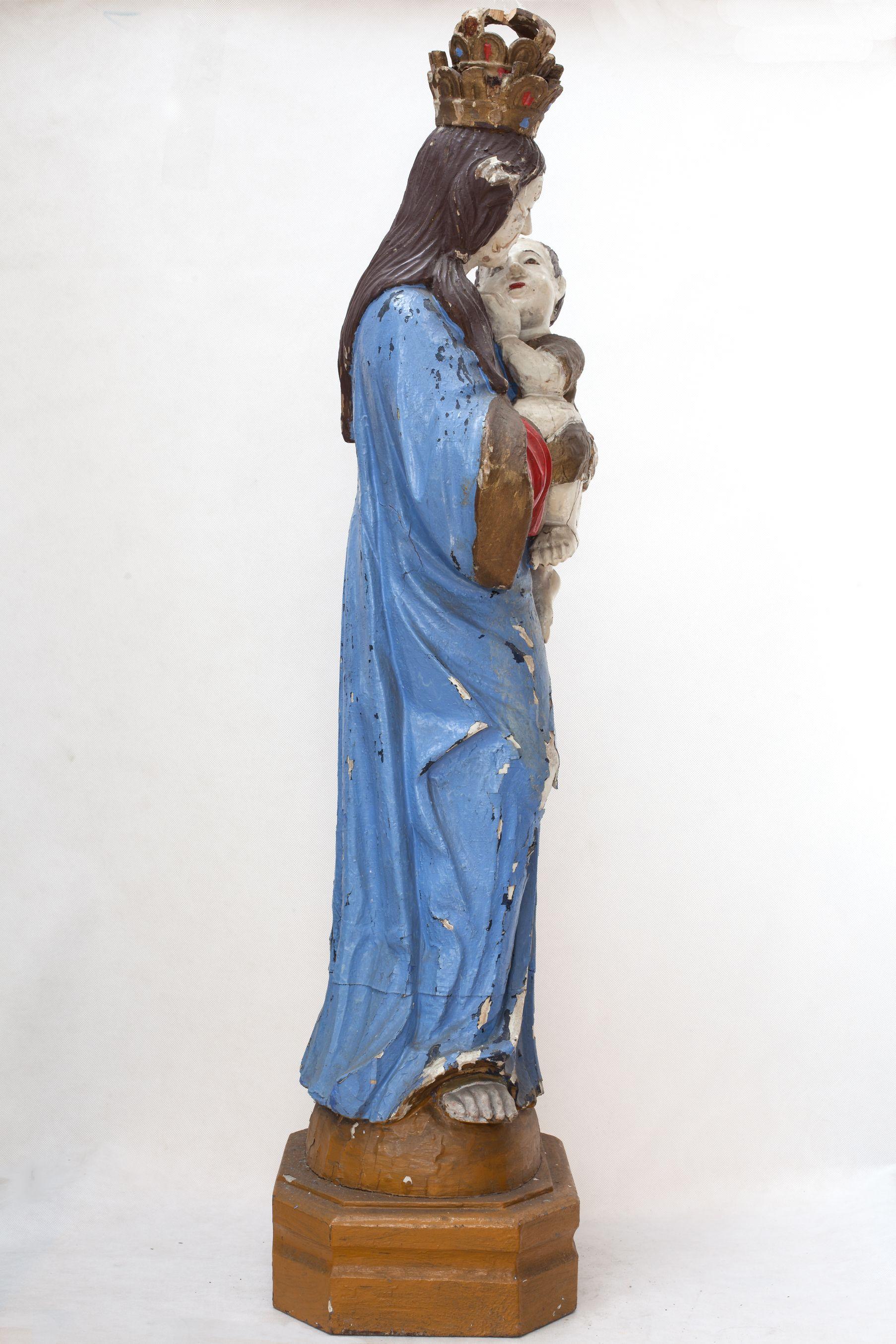 MOR E/3742 Matka Boża z Dzieciątkiem bok