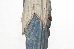 MOR E/3746 Rzeźba Matka Boska Niepokalanie Poczęta tył