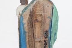 MOR E/ 1009 Matka Boska z Dzieciątkiem tył
